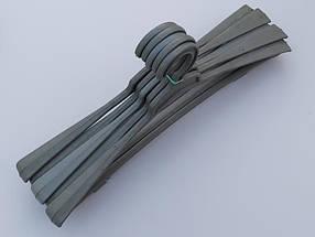Плечики вешалки тремпеля ( Гем ) цвета хаки, длина 45 см, в упаковке 5 штук, фото 3