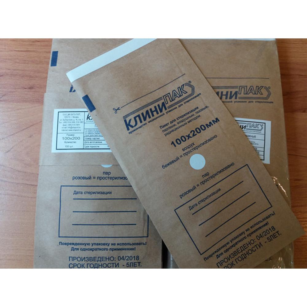 Пакеты для сухожара с Индикатором, 100 шт
