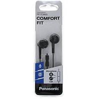 Навушники Panasonic RP-TCM55GC-K Black с микрофоном