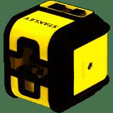 """Уровень лазерный крослайнер """"Cubix"""" красный луч 10 м STANLEY STHT77498-1"""