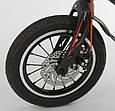 """Детский двухколёсный велосипед 14"""" с магниевой рамой и алюминиевыми двойными дисками Corso MG-14 S 325 черный, фото 5"""