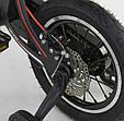"""Детский двухколёсный велосипед 14"""" с магниевой рамой и алюминиевыми двойными дисками Corso MG-14 S 325 черный, фото 6"""