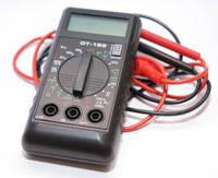 Цифровой мультиметр DT 182, измеритель электричества, тестер, омметр, амперметр, вольтметр, омметр