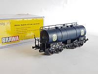 Brawa 47092  модель 4х осной цистерны Homann DB, масштаба 1:87,H0, фото 1