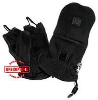 Перчатки-варежки MFH флис черные 15311А