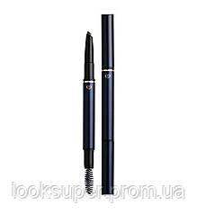 Инновационный двухсторонний карандаш для бровей CLÉ DE PEAU BEAUTÉ Eyebrow Pencil Cartridge 202 Gray brown