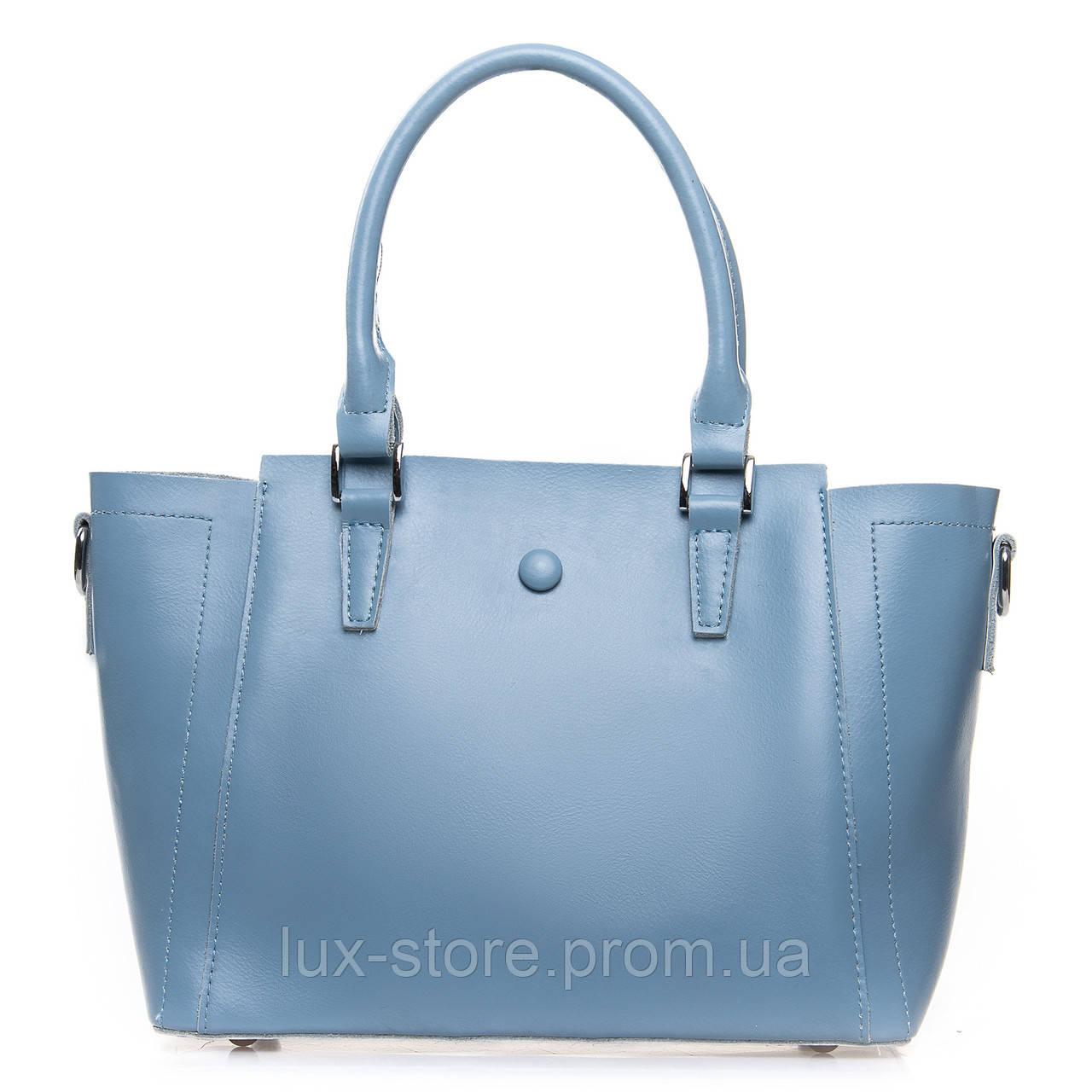Сумка Женская Классическая кожа ALEX RAI  light-blue