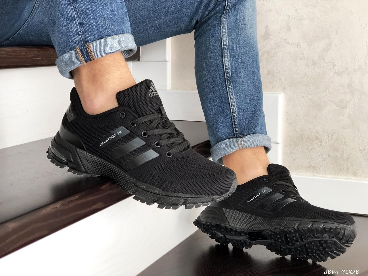 Чоловічі кросівки Adidas Marathon TR (чорні) 9008
