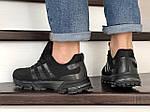Чоловічі кросівки Adidas Marathon TR (чорні) 9008, фото 2