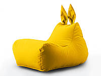 Кресло мешок Зайка цвет Желтый