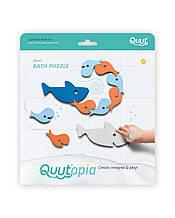 Игрушки для ванной Пазл-головоломка ТМ Quut Акулы
