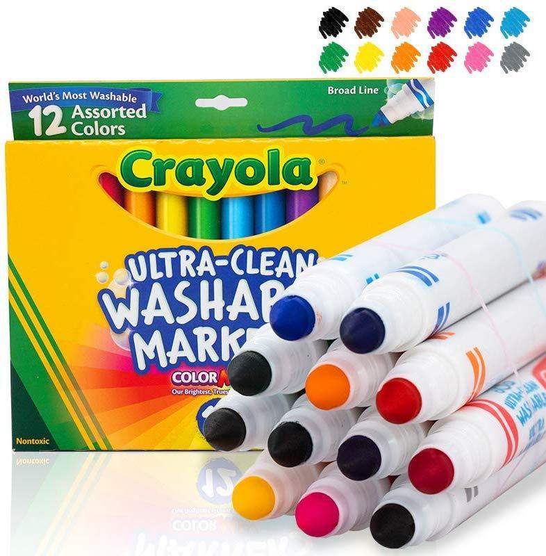 Crayola Маркери що змиваються 12 шт.