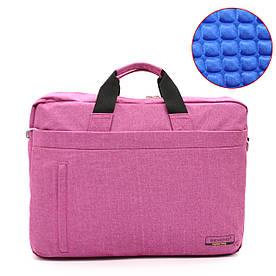 "Сумка для ноутбука Romoid 15.6"" Pink Anti-Shock System розовая"