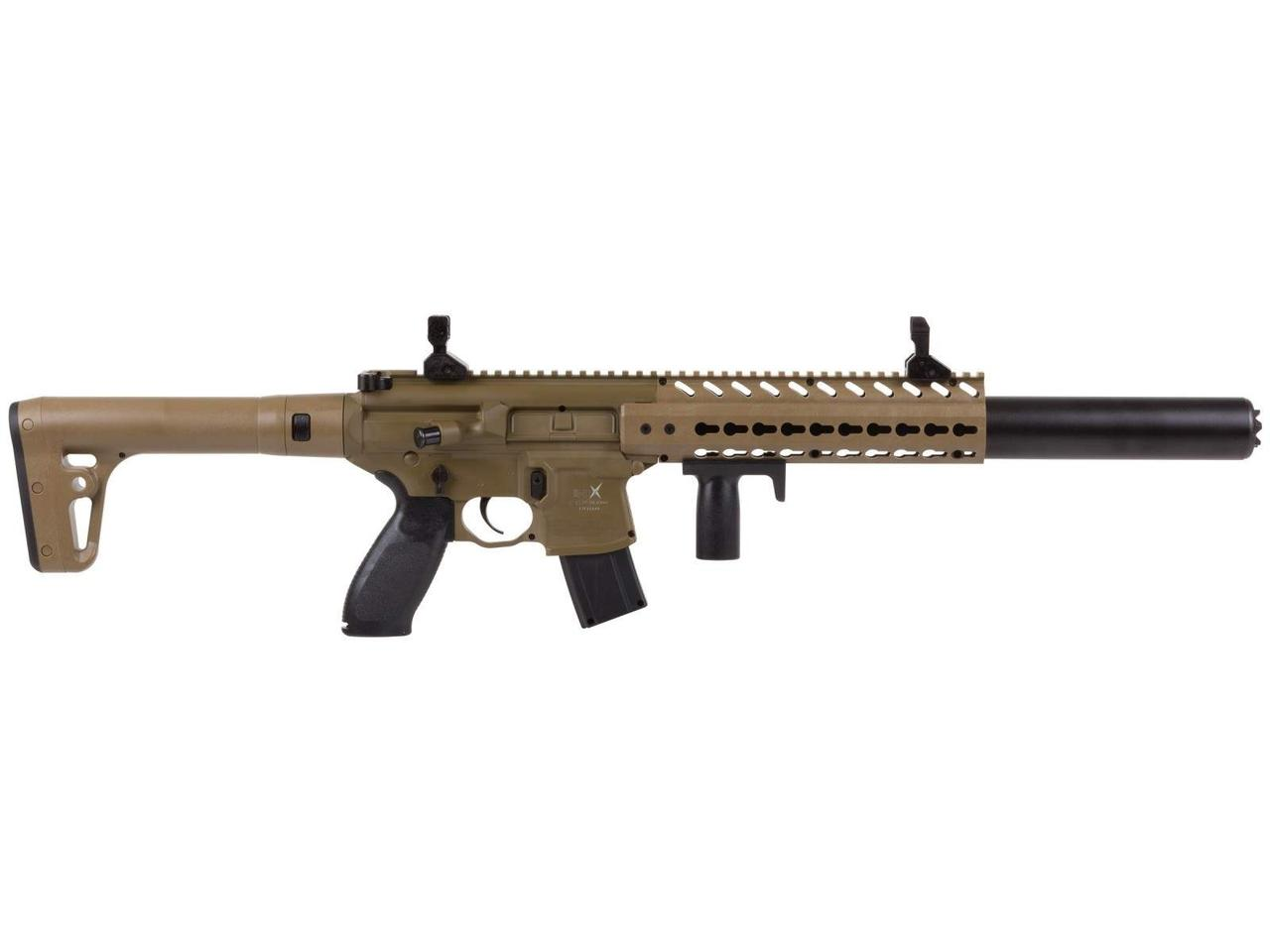 Гвинтівка пневматична Sig Sauer Air MCX FDE Sand