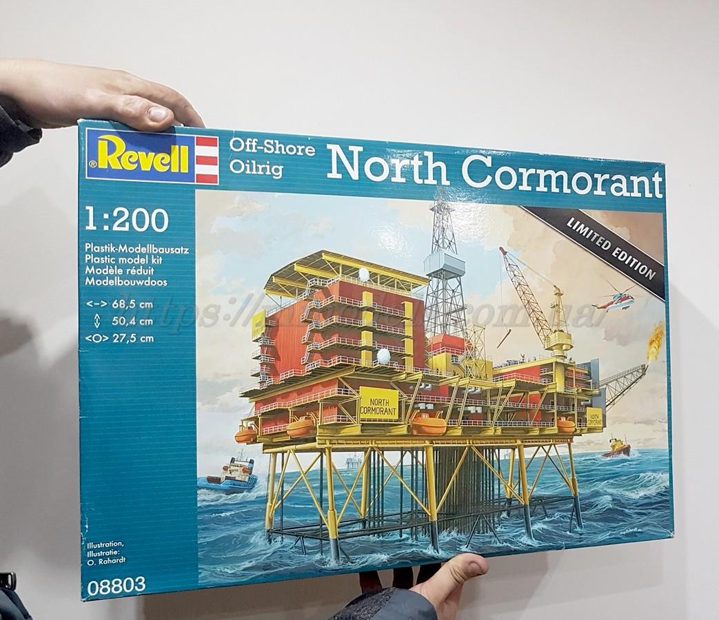 "Revell 08803 Сборная модель Оффшорная нефтяная вышка ""Северный баклан"", масштаба 1/200.LIMITED EDITION"