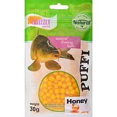 Повітряне тісто Grizzly Baits Puffi Honey (Мед) 8мм 30г