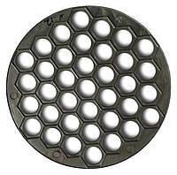 Пельменница алюминиевая круглая на 37 изделий, форма для пельменей