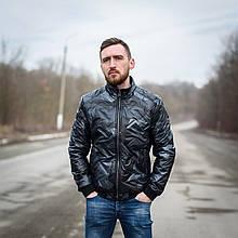 Чоловіча демісезонна куртка Y. L. Z, сірого кольору