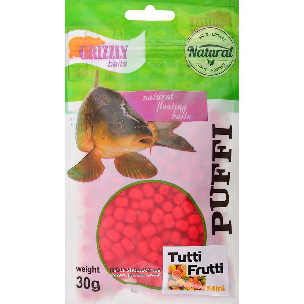 Воздушное тесто Grizzly Baits Puffi Tutti-Frutti (Тутти-Фрутти) 8мм 30г