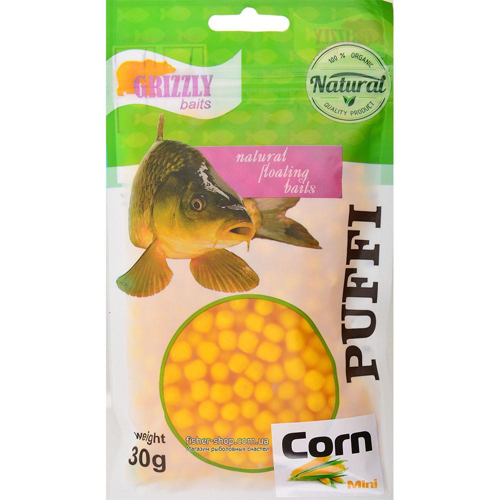 Воздушное тесто Grizzly Baits Puffi Corn (Кукуруза) 8мм 30г