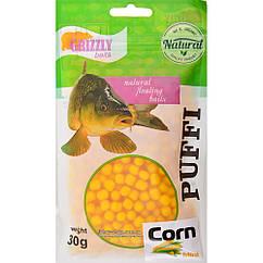 Повітряне тісто Grizzly Baits Puffi Corn (Кукурудза) 8мм 30г