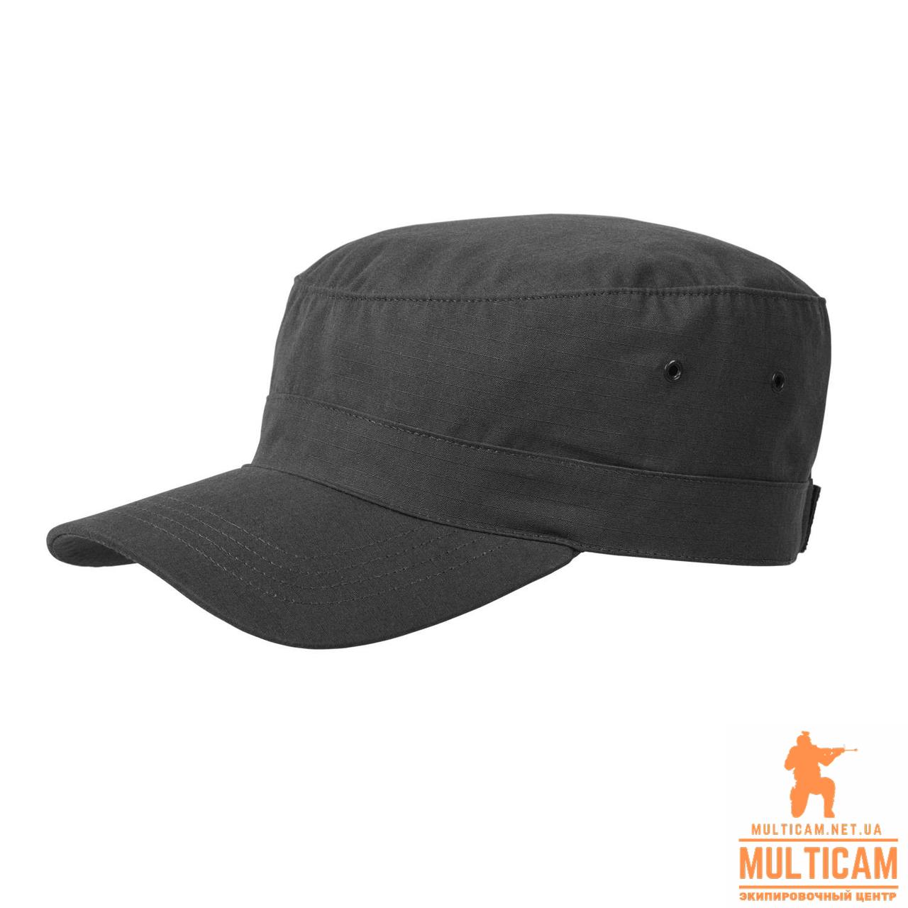 Кепка военная Helikon-Tex® COMBAT Cap - PolyCotton Ripstop - Black