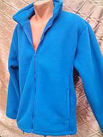 """Куртка мужская утепленная из флиса на """"барашке"""" больших размеров."""