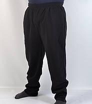 Штаны спортивные больших размеров - зима 4XL - 8XL (Венгрия ) Брюки байковые мужские - батал, фото 3