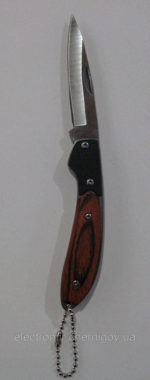 Нож складной с фиксатором 238 7см (брелок)