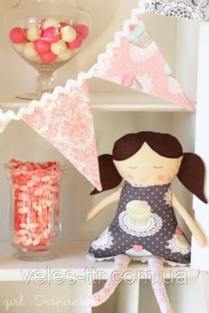 Выкройка примитивной текстильной куклы