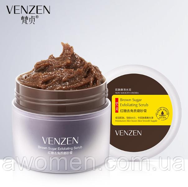 Маска скраб Venzen Brown Sugar Scrub с коричневого сахара 100 g