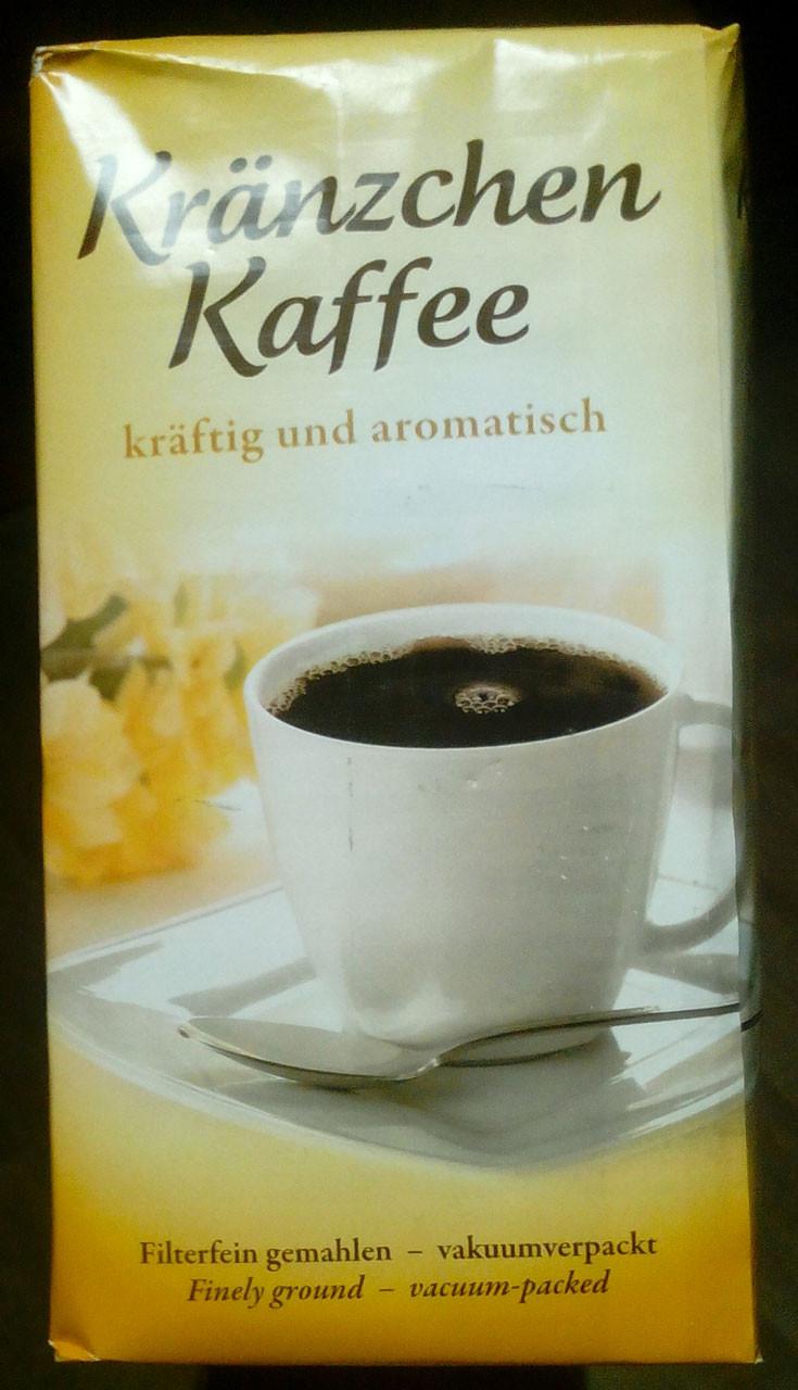 Молотый кофе J.J. Darboven Kranzchen Kaffee, 500 гр.