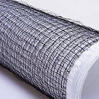 Сетка для бадминтона (полиэстер, р-р 6x0,76м, ячейка р-р 2х2см, черный)