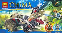 Конструктор Bela серия Legends of Chima 10052 (Потрошитель Кроули)