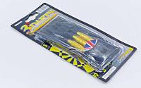 Дротики для игры в дартс каплевидные 3шт Baili Sport (латунь,вес 21гр, PVC чехол) PZ-BL-3021
