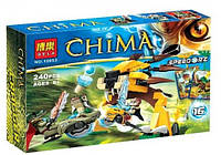 Конструктор Bela серия Chima 10053 Финальный поединок (аналог Lego Legends of Chima 70115)