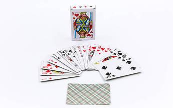Игральные карты с ламинированным покрытием (колода в 54 листа, толщина-0,1мм)