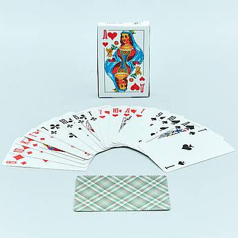 Игральные карты с ламинированным покрытием (колода в 36 листов, толщина-0,1мм)