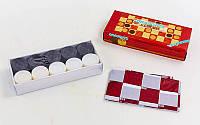 Запасные фигурки для шашек (пластик, d шашки-3,2см)