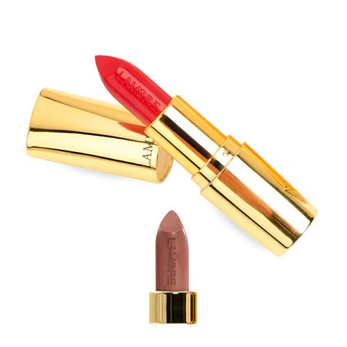 """губная помада полуматовая """"Lipstick Exclusive Colour №9 (персиковый)"""" Ламбре / Lambre"""
