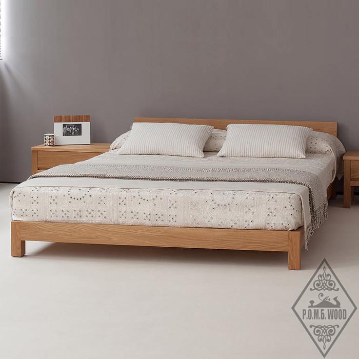 "Дубове ліжко ""Невада"""
