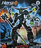Конструктор Decool серия HERO 4 Звездный солдат 9988 (Black Phantom/Черный фантом)