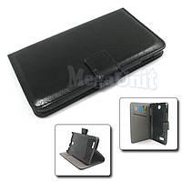 Чехол-книжка Book Cover для Lenovo A590 Черный