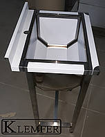 Ванна моечная односекционная 700х600