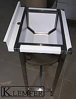 Ванна моечная односекционная 800х600
