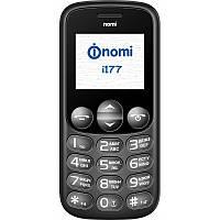 Бабушкофон Nomi i177 на 2 сим-карты с крупными цифрами и буквами
