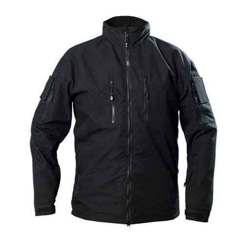 Ветровка куртка тактическая рип-стоп черная Cooperr Jacket II Black M, 3-4