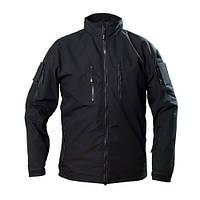 Ветровка куртка тактическая рип-стоп черная Cooperr Jacket II Black