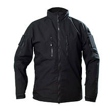 Куртка вітровка тактична ріп-стоп чорна Cooperr II Black Jacket