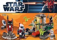 Конструктор серия Star Wars / Звездные войны 9488 (Крепость и герои)